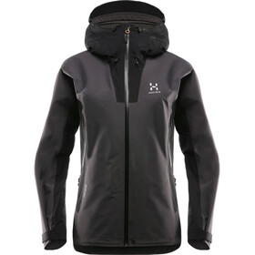 Haglöfs W's Kabi K2 Jacket True Black/Magnetite